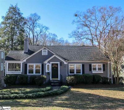 Greenville Single Family Home Contingency Contract: 410 Aberdeen