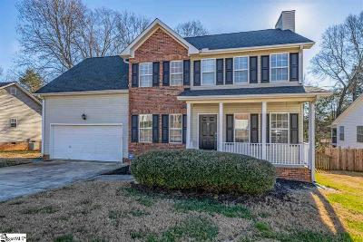 Simpsonville Single Family Home For Sale: 410 Windy Meadow