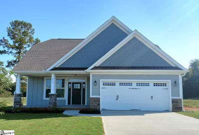 Taylors Single Family Home For Sale: 212 Cherrybark #Lot 20