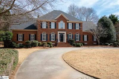 Greer Single Family Home For Sale: 5 Colchester