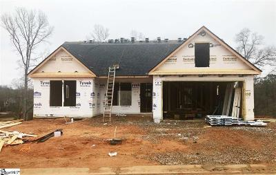 Simpsonville Single Family Home For Sale: 314 Loxley