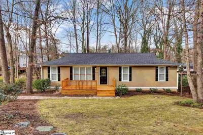Greer Single Family Home Contingency Contract: 205 Duquesne