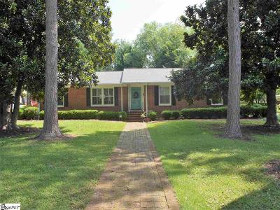 Fountain Inn Single Family Home For Sale: 117 Maple