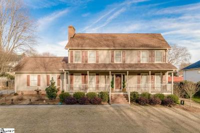 Greenville Single Family Home Contingency Contract: 237 Hardwood