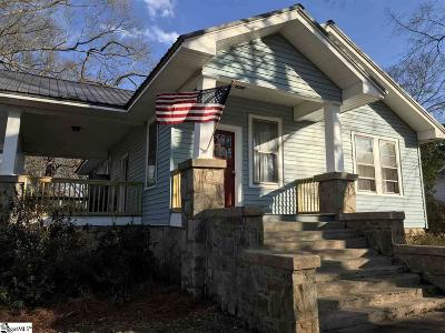 Laurens Single Family Home Contingency Contract: 209 Irby