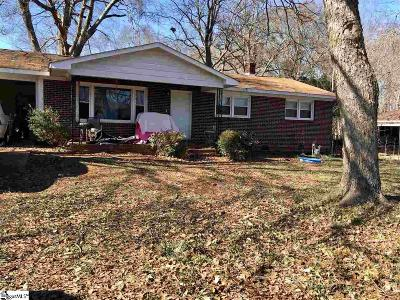 Spartanburg Single Family Home For Sale: 114 Walden