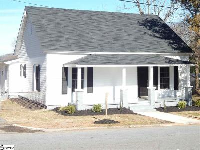 Easley Single Family Home Contingency Contract: 404 Blair