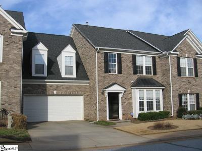 Simpsonville Condo/Townhouse For Sale: 15 Everleigh
