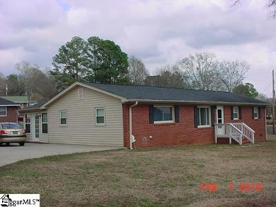 Easley Single Family Home For Sale: 119 Ruth