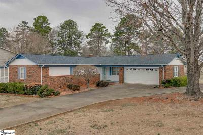 Spartanburg Single Family Home Contingency Contract: 2 Willow Run