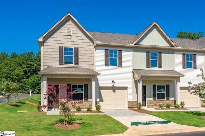 Mauldin Condo/Townhouse For Sale: 201 Fern Hollow