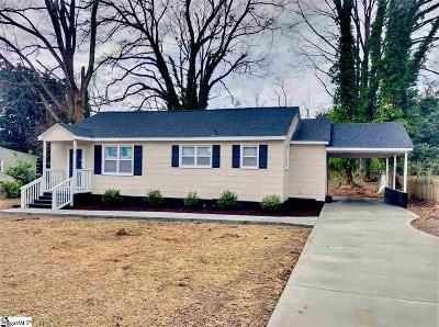 Spartanburg Single Family Home For Sale: 244 Charlesworth