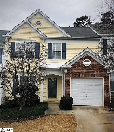 Greer Condo/Townhouse For Sale: 819 Weybourne
