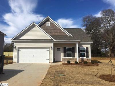 Simpsonville Single Family Home For Sale: 715 Camberwell #Lot 379