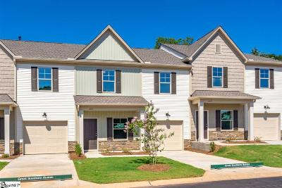 Mauldin Condo/Townhouse For Sale: 207 Fern Hollow