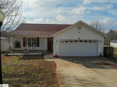 Greer Single Family Home Contingency Contract: 783 Cool Creek