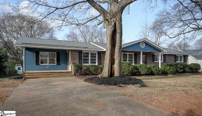 Greer Single Family Home Contingency Contract: 102 Gregory