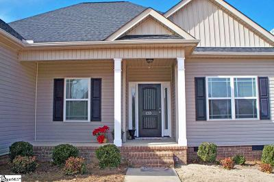 Simpsonville Single Family Home Contingency Contract: 133 Ladson Lake
