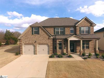 Greenville County Single Family Home For Sale: 1 Foxhill