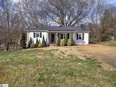 Greenville Single Family Home Contingency Contract: 8 Arlene