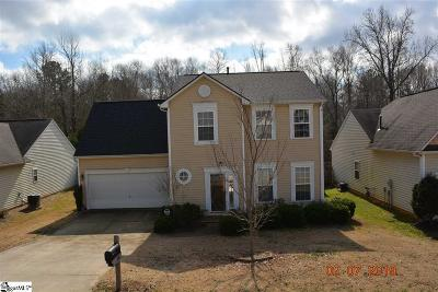 Simpsonville Single Family Home For Sale: 618 Timber Walk