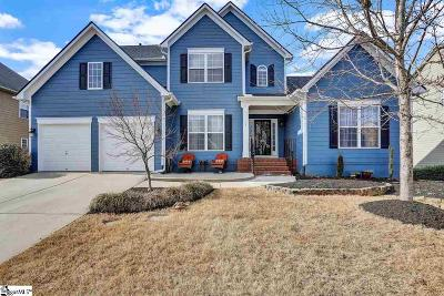 Simpsonville Single Family Home Contingency Contract: 220 Strasburg