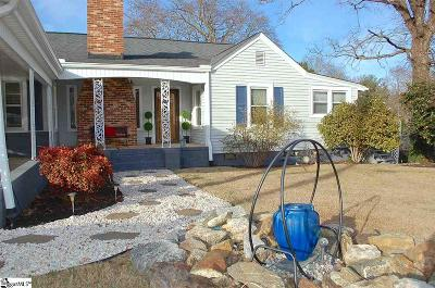 Greenville Single Family Home Contingency Contract: 104 Rosewood