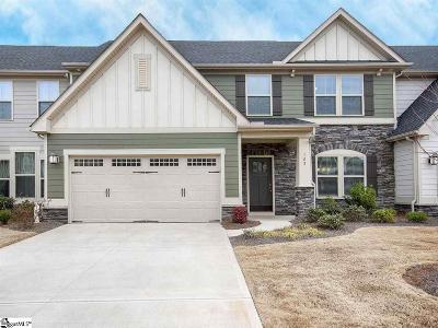 Townes At Five Forks Condo/Townhouse For Sale: 102 Vereen