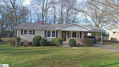 Greenville Single Family Home Contingency Contract: 110 Banner