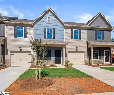 Greenville County Condo/Townhouse For Sale: 202 Fern Hollow