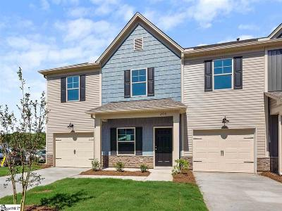 Mauldin Condo/Townhouse For Sale: 206 Fern Hollow