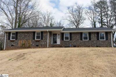 Spartanburg Single Family Home For Sale: 211 Anita