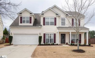 Simpsonville Single Family Home For Sale: 406 Blue Sage