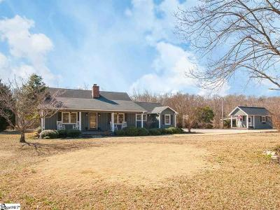 Woodruff Single Family Home For Sale: 211 Coggins