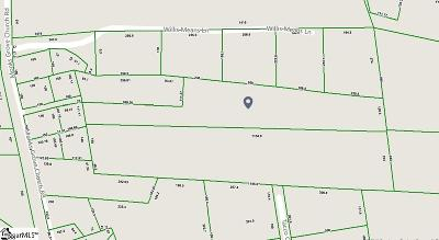 Spartanburg Residential Lots & Land For Sale: Monks Grove Church