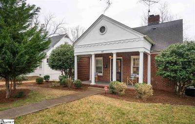 Greenville Single Family Home For Sale: 107 East Faris