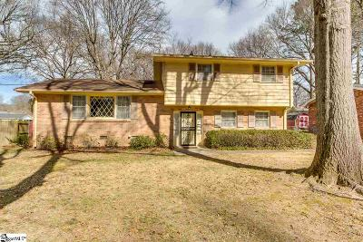 Greenville Single Family Home For Sale: 609 Don