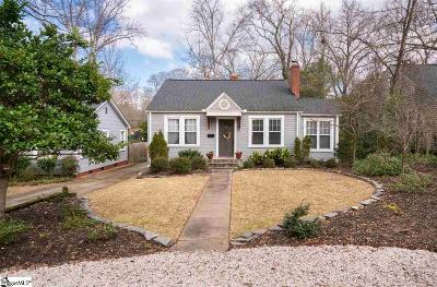 Greenville Single Family Home Contingency Contract: 5 Beverly