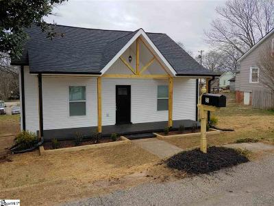 Greenville Single Family Home For Sale: 23 Traction