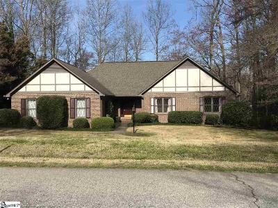 Greenville Rental For Rent: 124 Shannon Lake