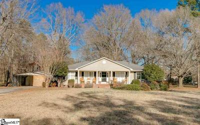 Piedmont Single Family Home Contingency Contract: 1598 Shiloh Church