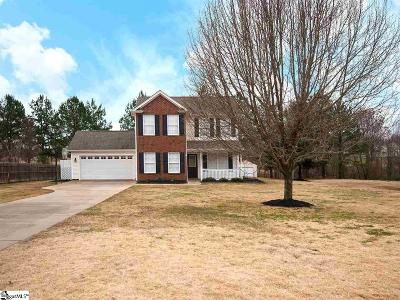 Greer Single Family Home For Sale: 915 Morning Star