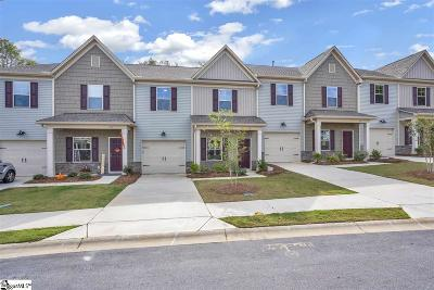 Greenville County Condo/Townhouse For Sale: 16 Double Branch