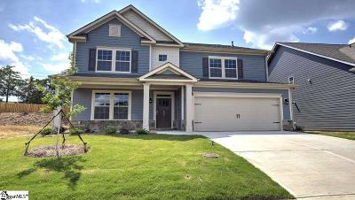 Simpsonville Single Family Home For Sale: 4 Raleighwood