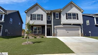 Simpsonville Single Family Home For Sale: 6 Raleighwood