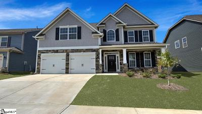 Simpsonville Single Family Home For Sale: 5 Raleighwood
