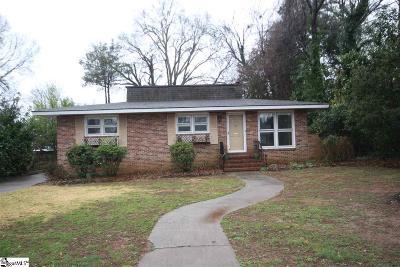 Greenville Rental For Rent: 24 E Hillcrest