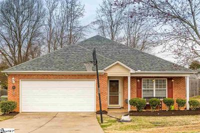 Fountain Inn Single Family Home Contingency Contract: 110 Catterick