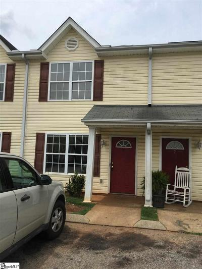 Greenville Condo/Townhouse Contingency Contract: 62 Buff