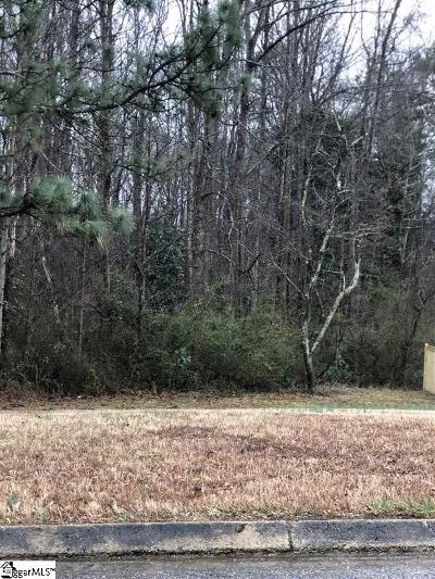 Simpsonville Residential Lots & Land Contingency Contract: 106 Cloverdale